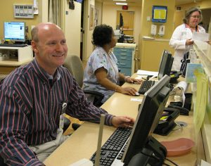 Dr. James Del Vecchio is medical director of the emergency department at Holy Cross Hospital in Silver Spring, Md. His ER is designed specifically for patients 65 and older.