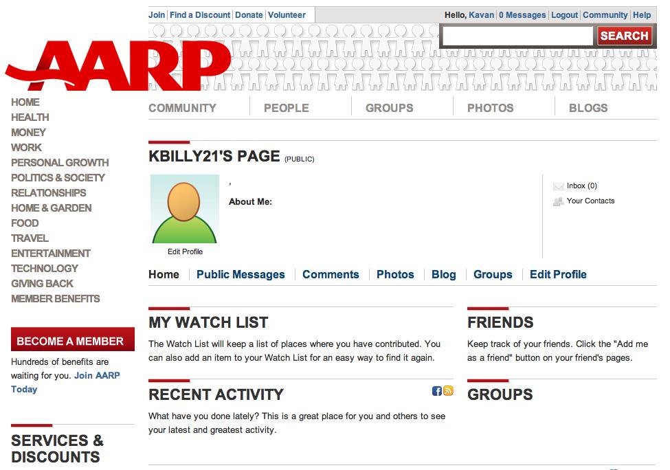 AARP Gets Social