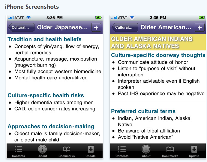 Race, Eldercare and iPhone Apps