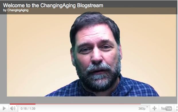 Building a Pro-Aging Community Through the Blogstream