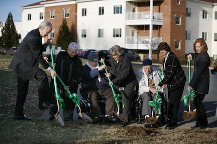 Woodland Park, Virginia's First Green House Homes, Break Ground in Harrisonburg