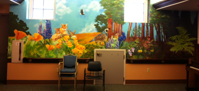 Salem Eden Mural Art Therapy Innovation