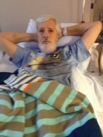 10501 Richard Taylor Checks In After Battling Cancer