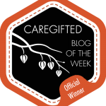 Writing Award Just For Caregiver Bloggers