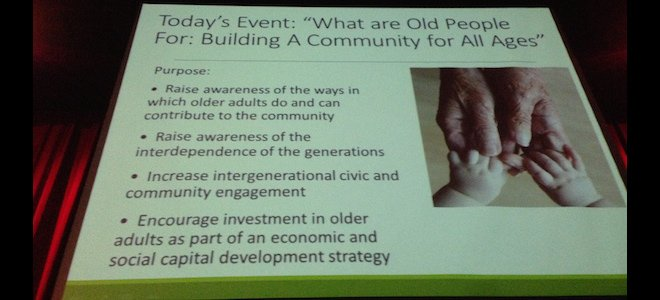 Building a Community For All Ages