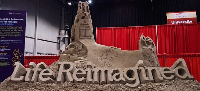 Life Reimagined Sand castle