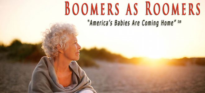 Boomers as Roomers — Seeing Aging as an Asset