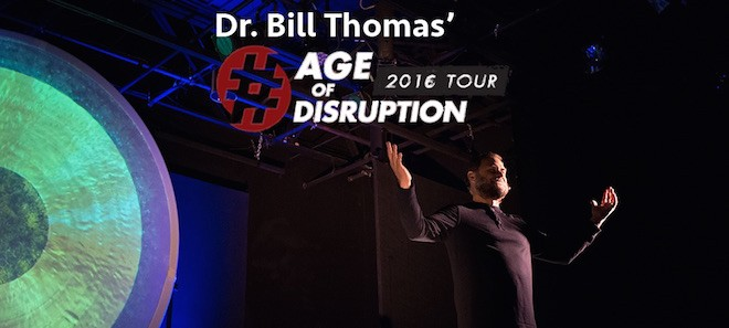 Age of Disruption 2016 World Tour