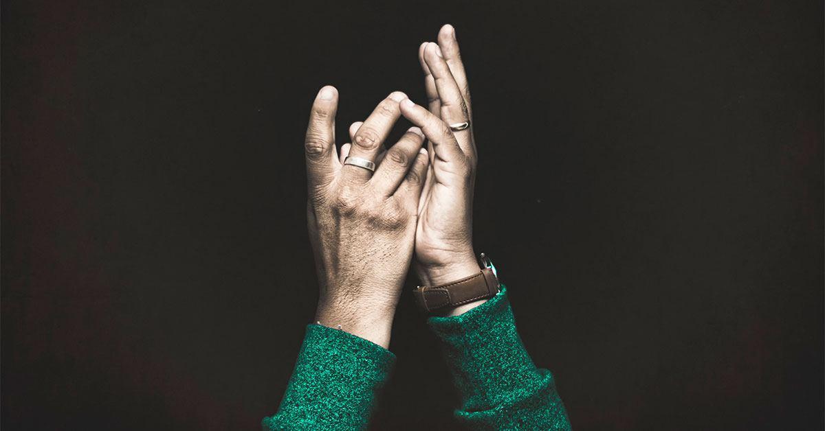 Hands Raised Wearing Rings - Immunity - ChangingAging.org