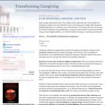 Transforming Caregiving
