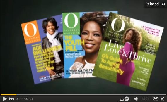 O Magazine Anti-Aging covers