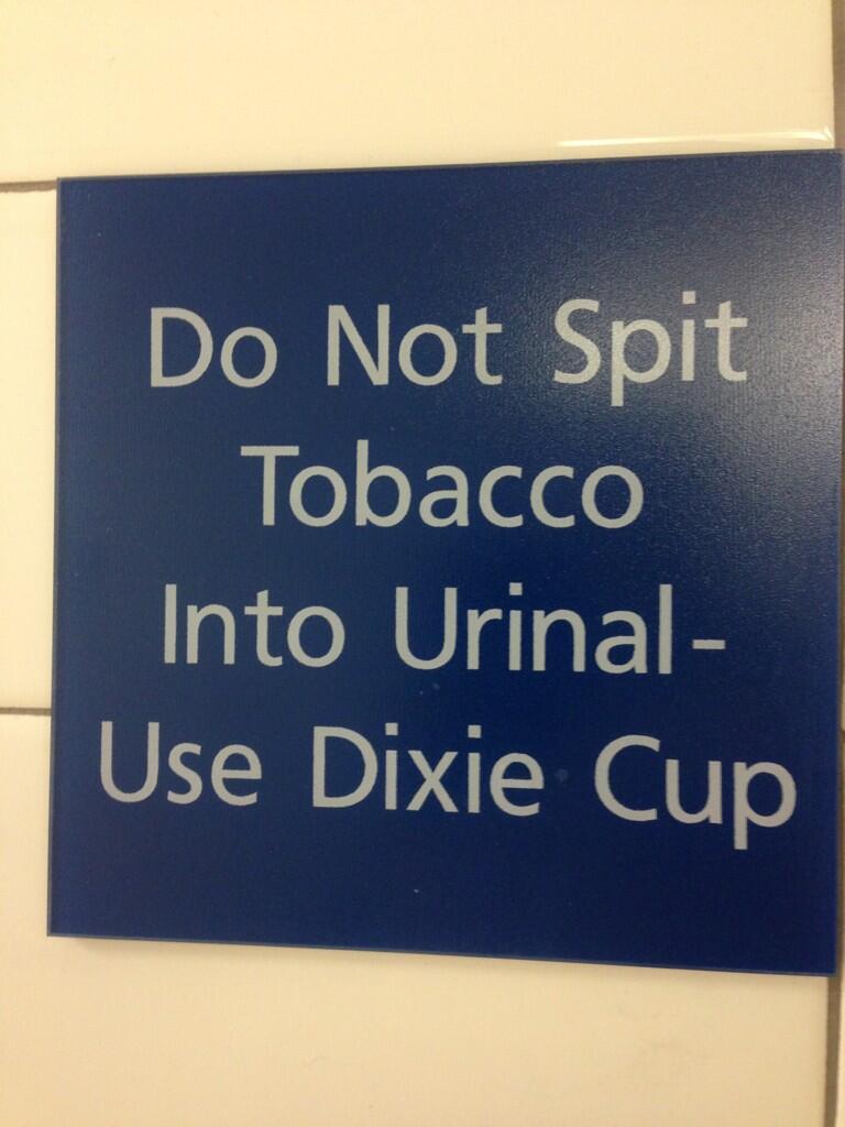 tobacco-urinal