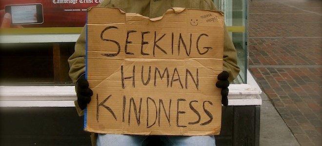 Seeking_human_kindness