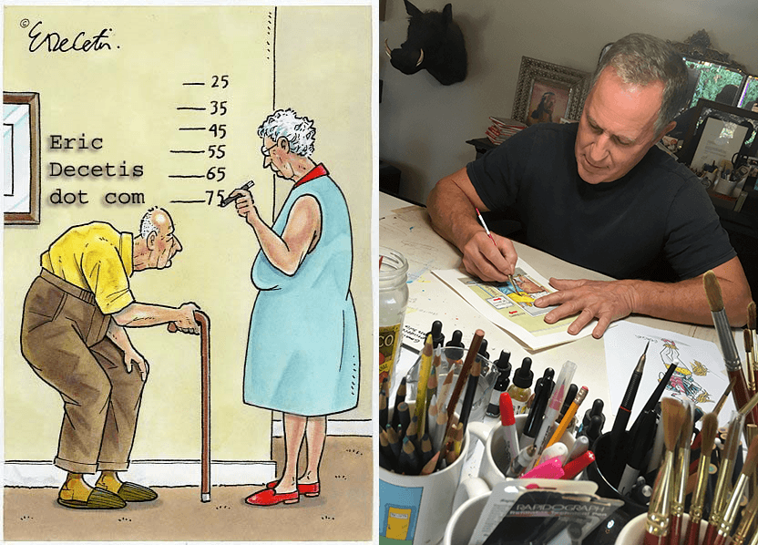 Growing Old Is A Joke: An Interview with Eric Decetis - ChangingAging 2