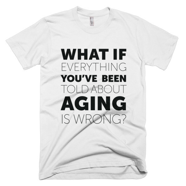 """What If?"" T-Shirt - ChangingAging 1"