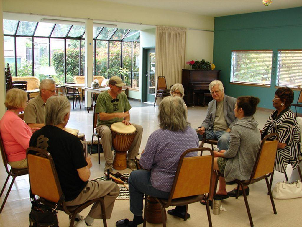 Momentia Drum Circle - ChangingAging.org